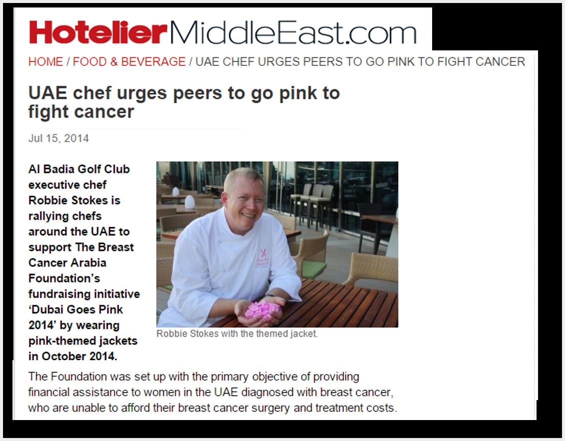 Chefs Wear Pink