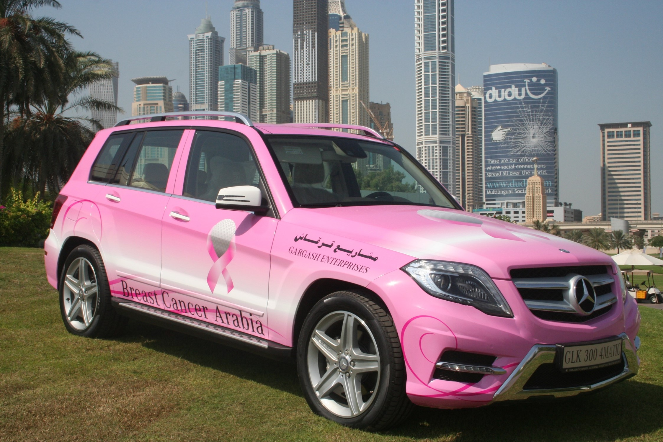 Our brand breast cancer arabia for Mercedes benz glx
